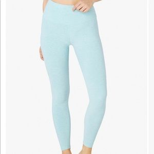 Beyond Yoga X Pure Barre spacedye midi legging